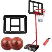 仿真兒童籃球架 可移動升降籃球框寶寶戶外運動鐵桿鐵圈籃球架jy【端午快速出貨限時8折