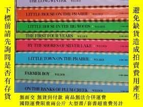 二手書博民逛書店The罕見Little House Books LAURA IN
