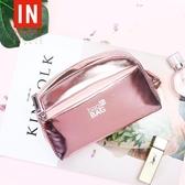 bagINBAG少女心化妝包小號便攜韓國大容量簡約化妝品收納包化妝袋