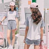 運動服休閒運動套裝女夏夏季新款韓版寬鬆短袖短褲學生跑步兩件套女 衣櫥秘密
