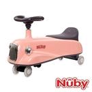 Nuby 兒童平衡扭扭車-優雅粉