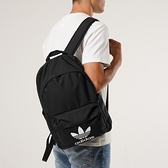 【一月大促折後$1580】adidas Originals Trefoil 經典背包 內夾層 黑白 雙肩背包 三葉草 可手提 GD4556