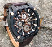 POLICE義大利國際品牌潮流型男日曆腕錶15472JSB-02原廠公司貨