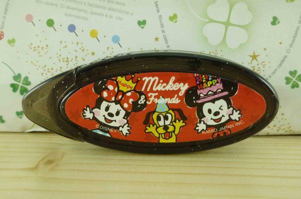 【震撼精品百貨】Micky Mouse_米奇/米妮 ~便利雙面膠-黑