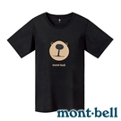 【mont-bell】WICKRON 女抑菌抗UV圓領短袖T恤『BK 黑』1114483 居家 上衣 短袖 夏季 印花 T恤