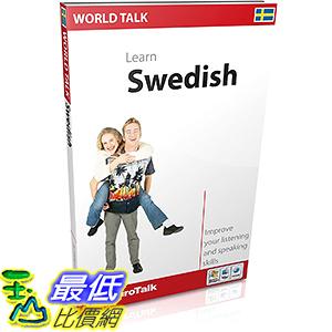 [106美國直購] 2017美國暢銷軟體 EuroTalk Interactive - World Talk! Swedish
