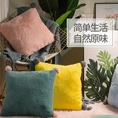沙發抱枕客廳靠背墊靠枕長方形枕頭簡約床頭護腰  【端午節特惠】