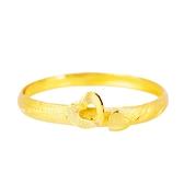 心心相印-愛心黃金戒指