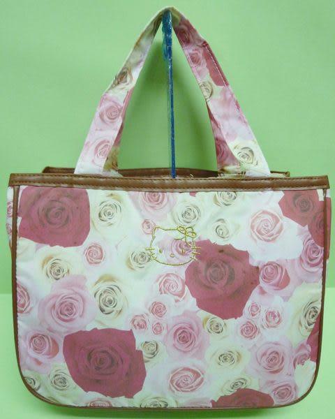 【震撼精品百貨】Hello Kitty 凱蒂貓~迷你手提袋『玫瑰花』
