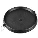 烤盤 韓式燒烤盤圓形戶外鑄鋁鐵板燒韓國烤肉盤麥飯石卡式爐燃氣烤肉鍋