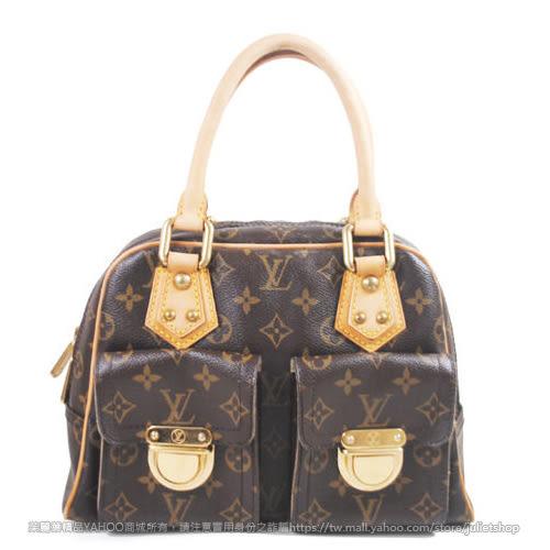 茱麗葉精品 二手精品 【9.5成新】Louis Vuitton LV M40026 烏瑪舒曼包.小