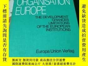 二手書博民逛書店ORGANISATION罕見EUROPEY405365 HEINZ MEDEFIND 出版1975