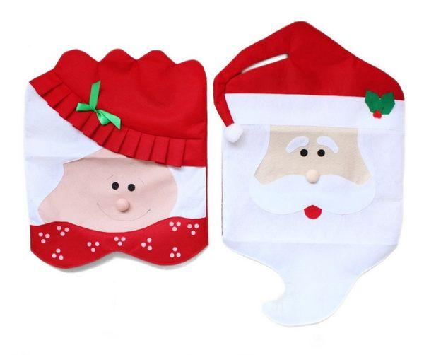 【慶耶誕】爆款熱賣聖誕椅套 聖誕椅子套 聖誕節用品餐桌裝飾禮品【H00625】
