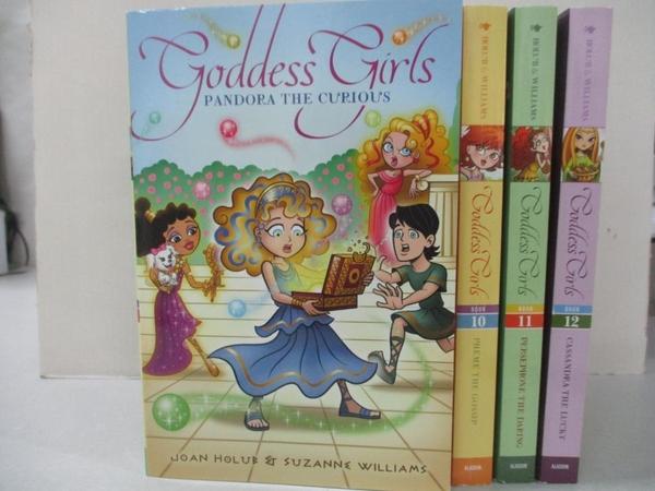 【書寶二手書T1/原文小說_HIB】Goddess Girls The Charming Collection: Pandora…