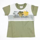 【愛的世界】純棉圓領短袖T恤/10歲-台灣製-n10 ★春夏上著