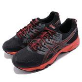 Asics 越野慢跑鞋 Gel-Sonoma 3 黑 橘 男鞋 戶外 運動鞋 【PUMP306】 T724N-9023