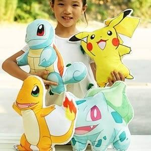 ♥靚女堂♥【CP14051826】 神奇寶貝皮卡丘pokemon 抱枕 寵物小精靈寶可夢口袋妖怪毛絨玩具