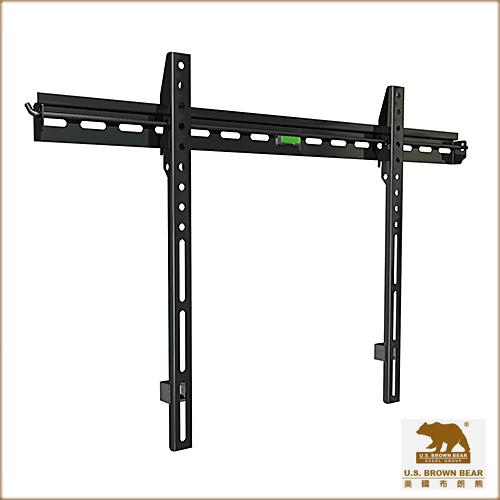 (限量出清)美國布朗熊 W9-60F  牆板固定式-適用37吋~60吋電視壁掛架
