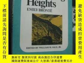 二手書博民逛書店英文版罕見Wuthering Heights 咆哮山莊Y7335