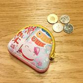 【金石工坊】元氣大滿足常樂招財貓零錢包/隨身包/耳機盒-求健康 求好運