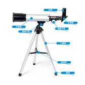 望遠鏡 正品天文望遠鏡單筒大口徑高清高倍微光專業觀星學生兒童成人 8號店