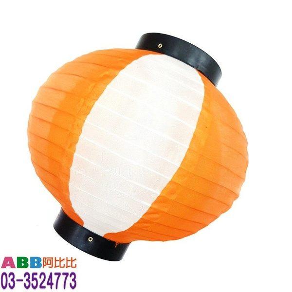 A1410-4★10吋黑蓋圓形燈籠_橘白#燈籠#日式#彩繪#小#圓#長#寫字燈籠#燈籠寫字#有字#提把#元宵#DIY