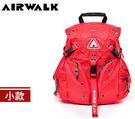 【橘子包包館】AIRWALK 繽紛三叉系列後背包-小 A431322840 紅色