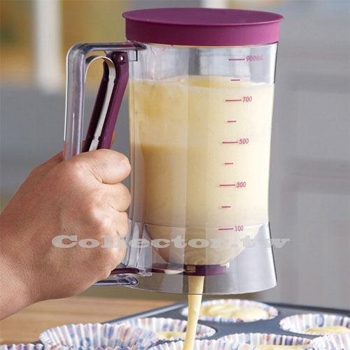 【超取399免運】杯子蛋糕專用麵糊分配器 分液器 麵糊漏斗 batter dispenser 量杯