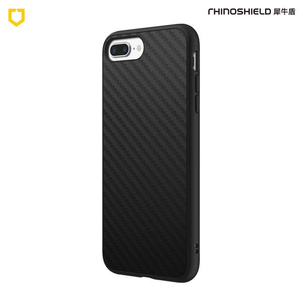 犀牛盾SolidSuit碳纖維防摔背蓋手機殼 - iPhone 7Plus / 8Plus