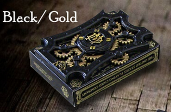 【USPCC撲克】Dale Mathis black/gold deck