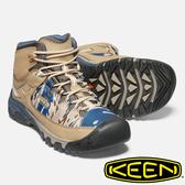 【KEEN】TARGHEE EXP MID WP男高筒防水登山鞋『土黃/藍/迷彩』1020728 健行.健走.多功能鞋.戶外