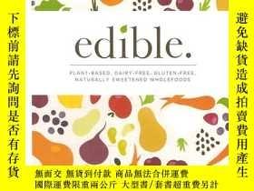 二手書博民逛書店罕見edibleY24040 by angela flack A