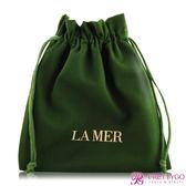 LA MER 海洋拉娜 品牌束口袋(18.5X20cm)【美麗購】