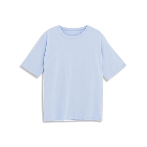 Queen Shop【01038344】素面圓領馬卡龍色系短TEE 七色售*現+預*