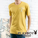 【PLAYBOY】流行兔頭彩色短袖T恤_(土黃色) P1030 P1830