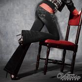 Victoria 銀河彩鑽靴型褲-女-黑灰-VW111286(領劵再折)
