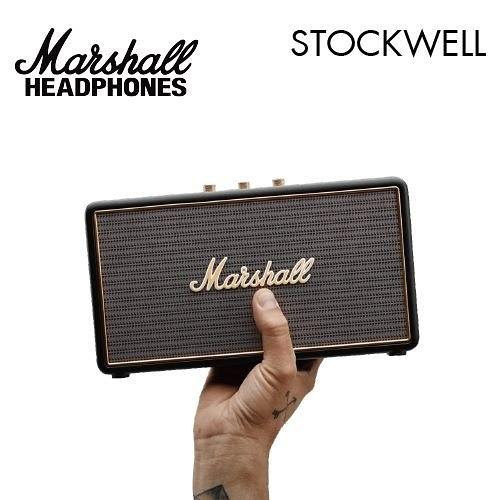 【出清陳列特價+24期0利率】英國 Marshall 藍牙喇叭 Stockwell 台灣公司貨 (含原廠皮套)