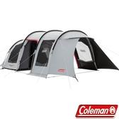 Coleman CM-34599 隧道式2 Room LDX子母帳篷 一房一廳露營帳/透氣防蚊帳篷/客廳帳/四季帳