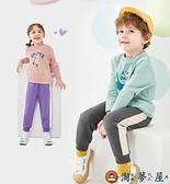 兒童長褲男女童運動褲長褲寶寶洋氣韓版童裝【淘夢屋】