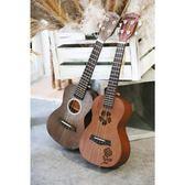 送調音器|安德魯23寸26寸小吉他烏克麗麗初學者學生成人女男可愛YS