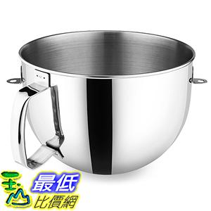 [美國直購] KitchenAid 6-qt KN2B6PEH 攪拌機配件 鋼盆 Mixing Bowl with Ergonomic Handle