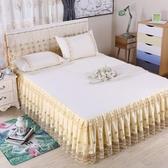 限定款床罩組床罩床裙式單件蕾絲花邊歐式夏季公主風180公分200公分220公分床單床套防滑保潔墊