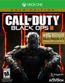 X1 Call of Duty Black Ops III - Gold Edition 決勝時刻:黑色行動 3 黃金版(美版代購)