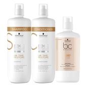 Schwarzkopf 施華蔻BC 新Q10凝時再生洗髮露/潤髮霜/髮膜 (乾燥/無光澤髮質) Vivo薇朵