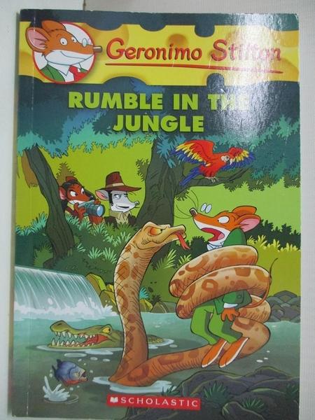 【書寶二手書T1/原文小說_GNV】Rumble in the Jungle_Stilton, Geronimo