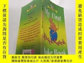 二手書博民逛書店My罕見first knock knock Joke book我的第一本敲門笑話書Y212829