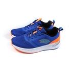 LOTTO 運動鞋 針織 藍/橘 童鞋 LT0AKR1816 no035