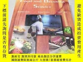二手書博民逛書店Food罕見and BEVERAGE SERVICE SECON