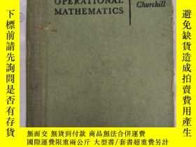 二手書博民逛書店operational罕見mathematics(H1806)Y