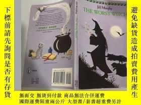 二手書博民逛書店the罕見worst witch 最壞的 . 女巫,Y200392